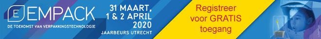 Empack 2020: registreer voor GRATIS toegang